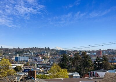 233 Langford Street view from balcony Mt Baker